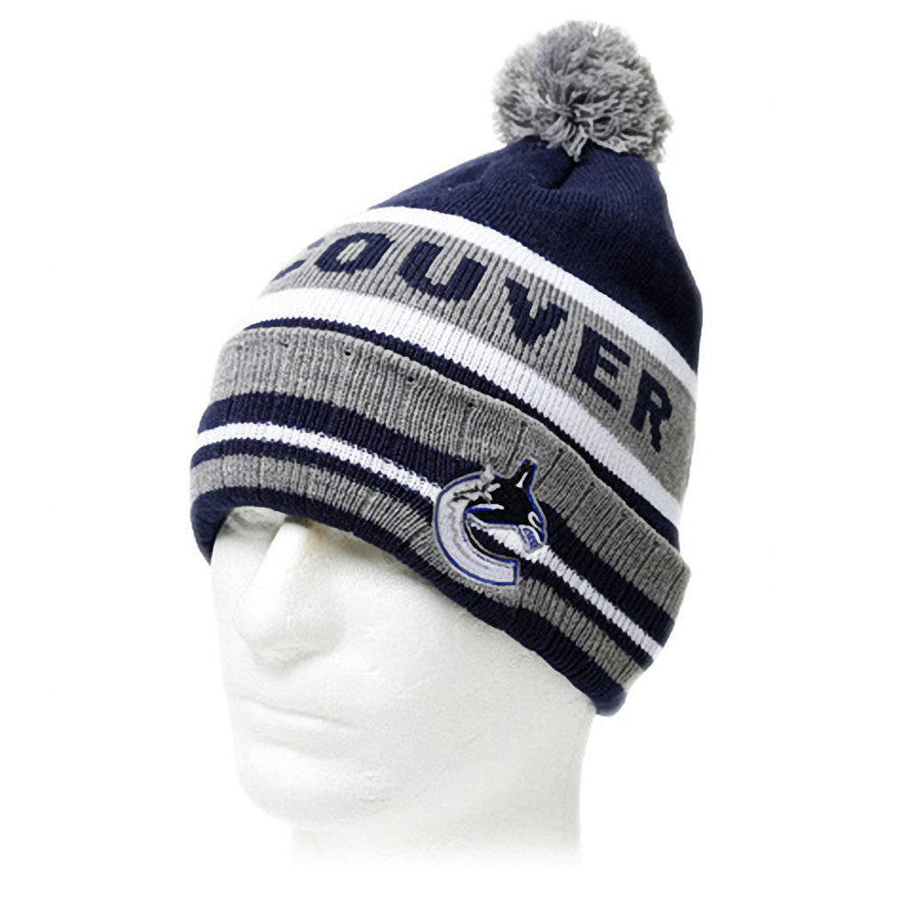 NHL Vancouver Canucks Adult Pom Pom Toque