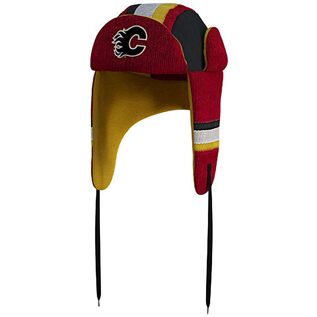 NHL Calgary Flames Reversible Trapper Hat