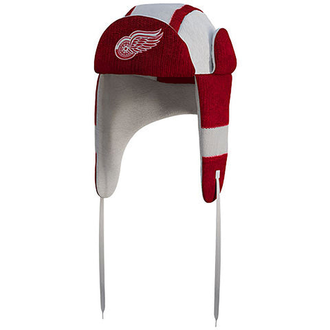 NHL Detroit Red Wings Reversible Trapper Hat