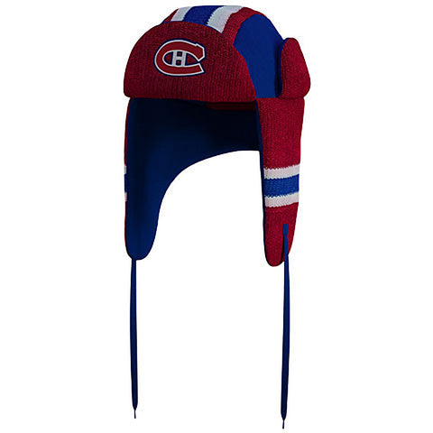 NHL Montreal Canadiens Reversible Trapper Hat