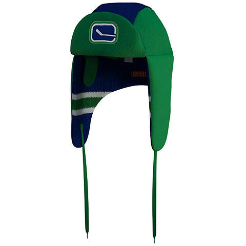 NHL Vancouver Canucks Reversible Trapper Hat
