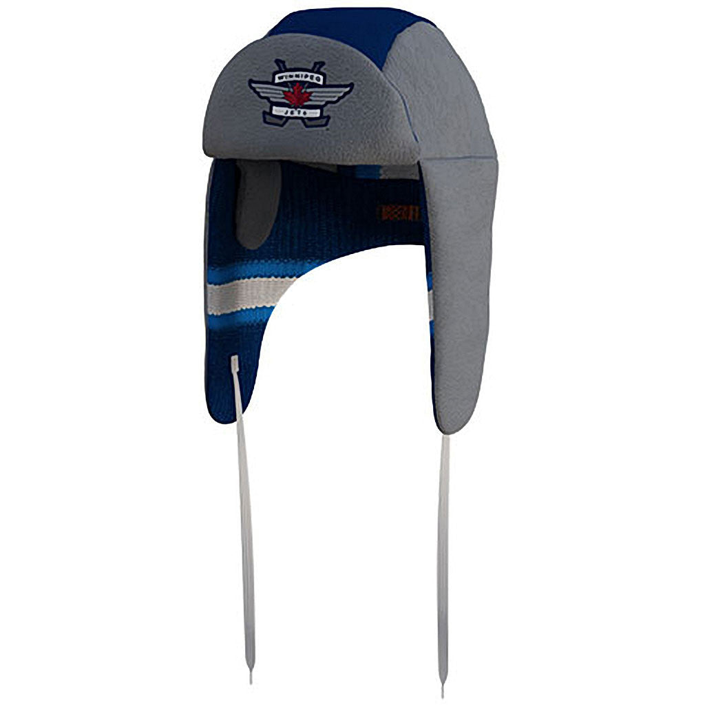 NHL Winnipeg Jets Reversible Trapper Hat