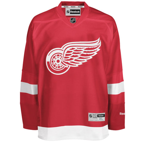 NHL Detroit Red Wings Reebok Men's Premier Jersey - Red