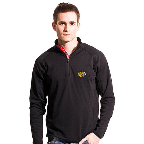 NHL Chicago Blackhawks  Metro Text 1/4 Zip