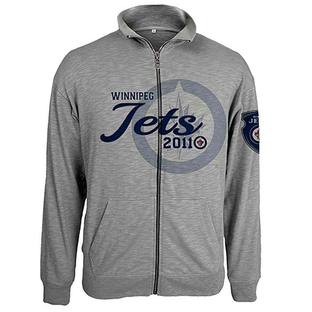 NHL Winnipeg Jets Tried and True Full Zip Jacket