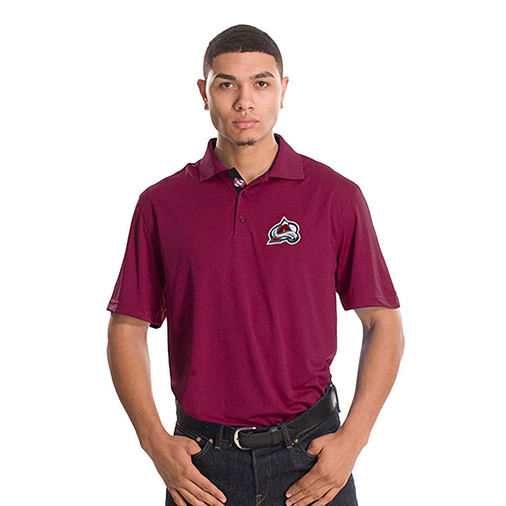 NHL Colorado Avalanche Helium Sliced Polo