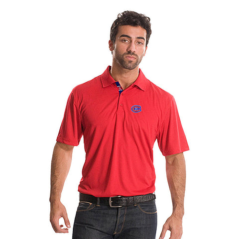 NHL Montreal Canadiens Helium Sliced Polo