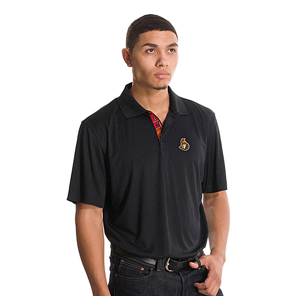 NHL Ottawa Senators Helium Sliced Polo