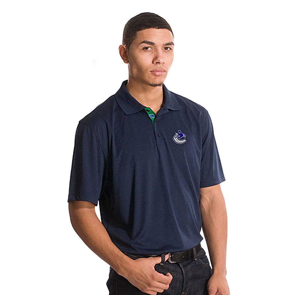 NHL Vancouver Canucks Helium Sliced Polo