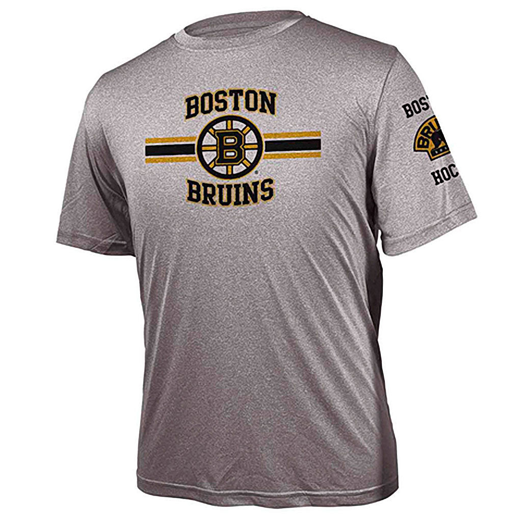 NHL Boston Bruins Bar Stripe Performance Tee