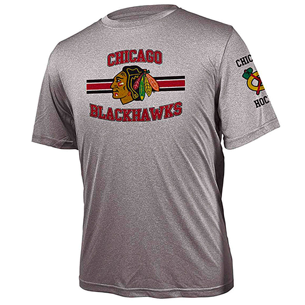 NHL Chicago Blackhawks  Bar Stripe Performance Tee