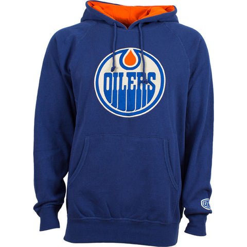 NHL Edmonton Oilers Old Time Hockey Blake Big Logo Hoody