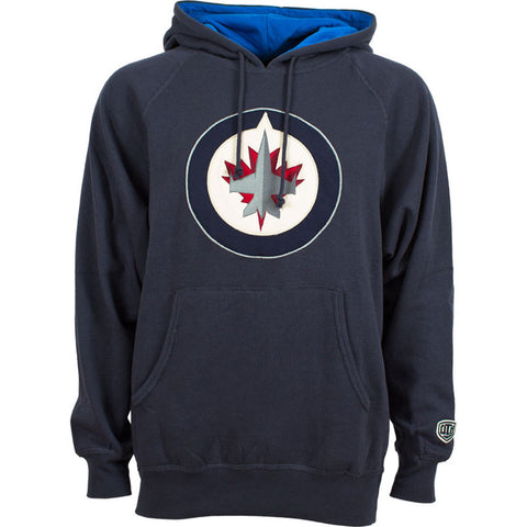 NHL Winnipeg Jets Old Time Hockey Blake Big Logo Hoody