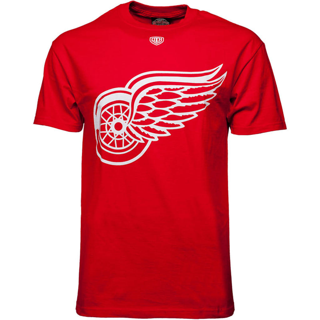 NHL Detroit Red Wings Old Time Hockey Big Logo T
