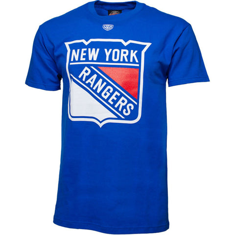 NHL New York Rangers Old Time Hockey Big Logo T