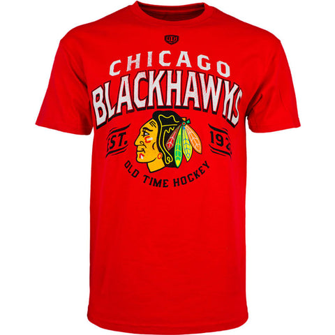 NHL Chicago Blackhawks  Old Time Hockey Cabot Short Sleeve T-Shirt