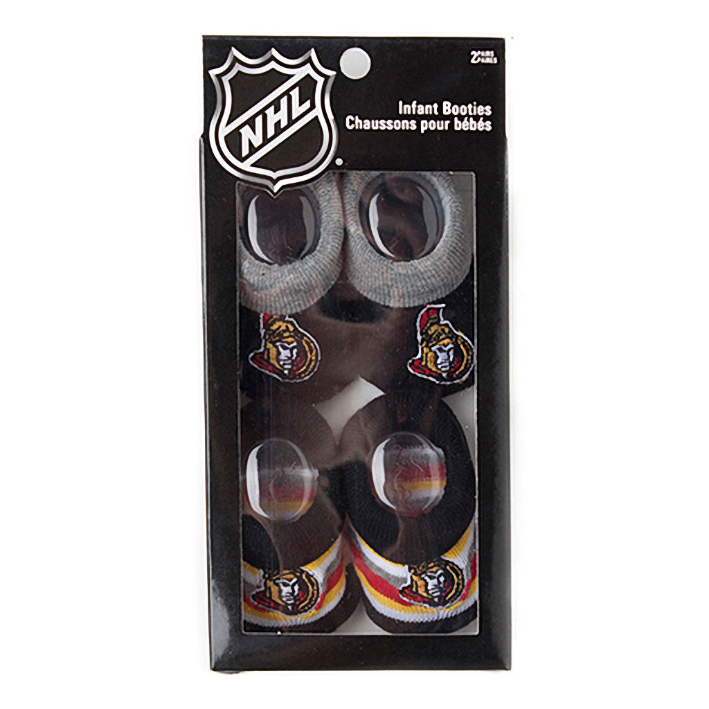 NHL Ottawa Senators NHL BABY 2PK GIFT BOX SOCK