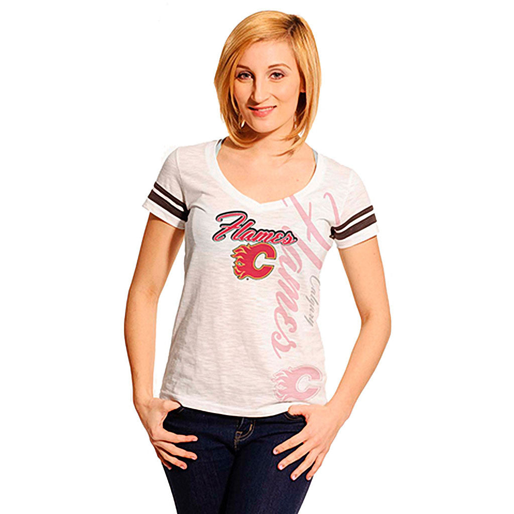 NHL Calgary Flames Women's Fanatic Frenzy Tee