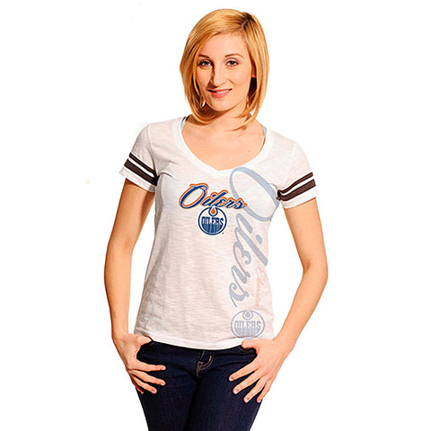 NHL Edmonton Oilers Women's Fanatic Frenzy Tee