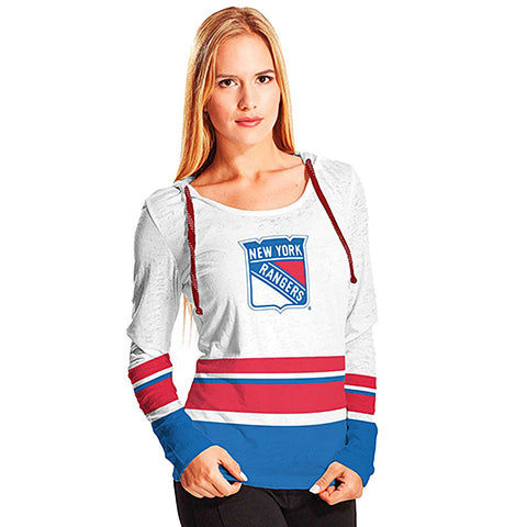 NHL New York Rangers Women's Skate Lace Lucy Hoody