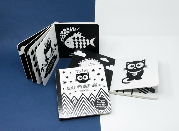Milo's Black and White World - First Baby Book
