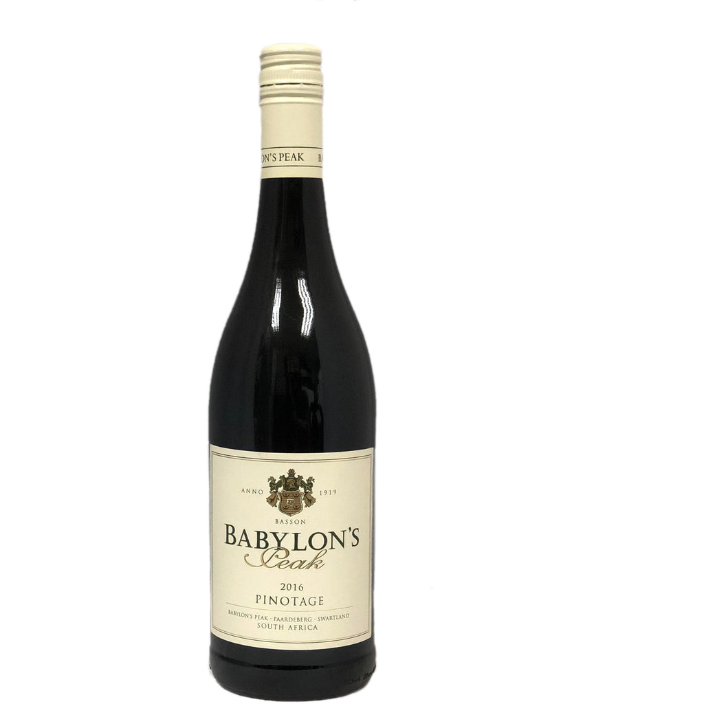 Babylon's Peak Pinotage 2017 - wine- french-Lik Tin Century