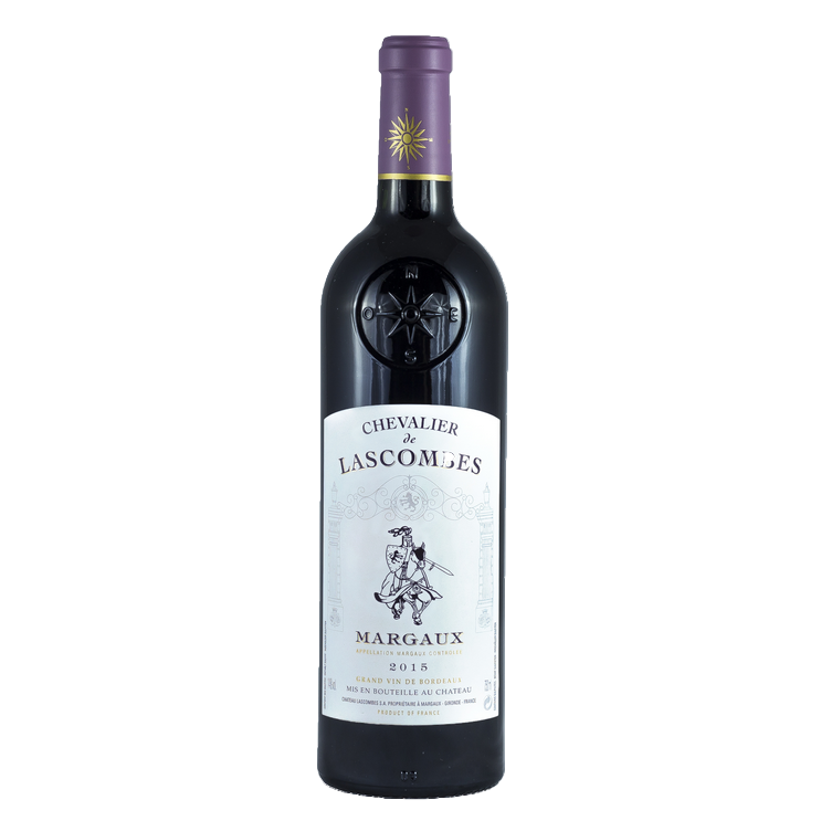 Chateau Lascombes Cheavlier de Lascombes 2015 - wine- french-Lik Tin Century