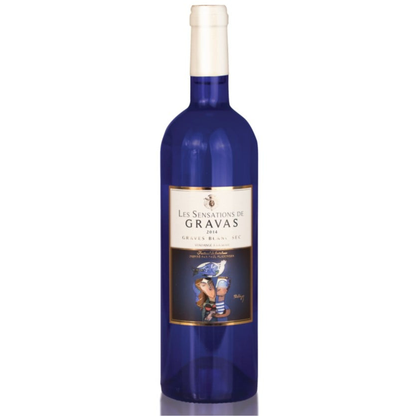 Chateau Gravas blanc 2014 - wine- french-Lik Tin Century