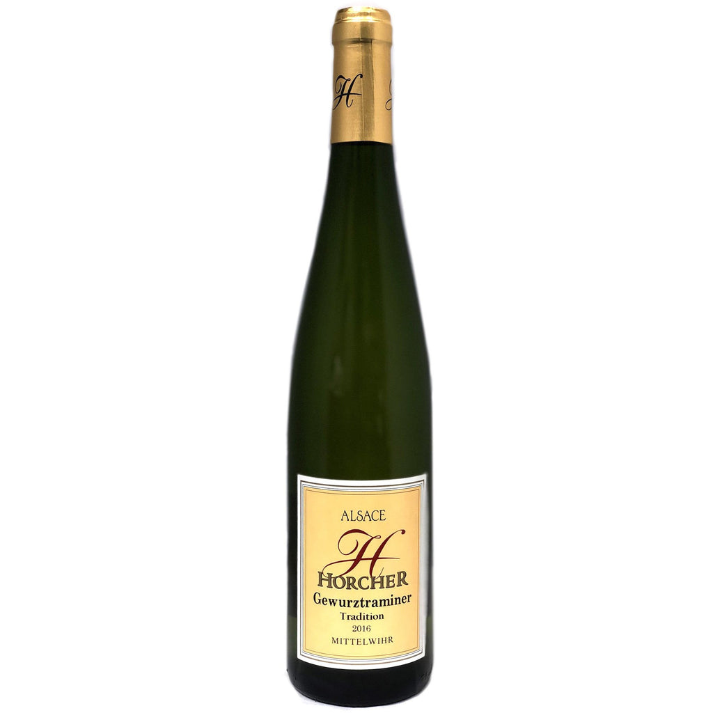 Domaine Horcher Gewurztraminer  2016 - wine- french-Lik Tin Century
