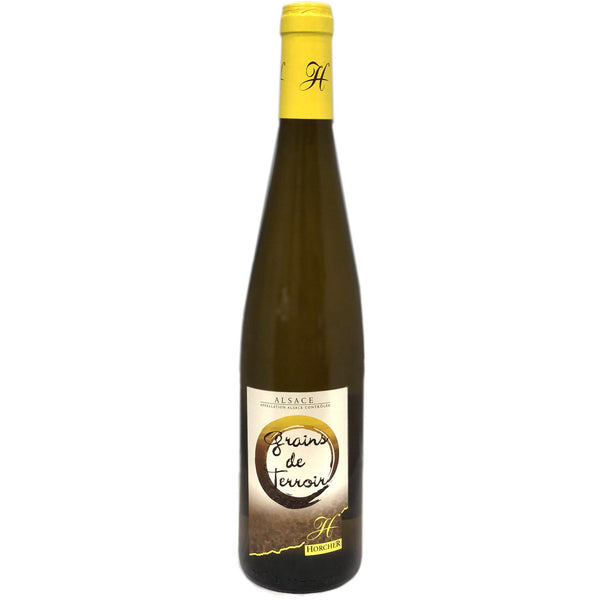 Domaine Horcher Riesling - Grains de Terroir 2015 - wine- french-Lik Tin Century