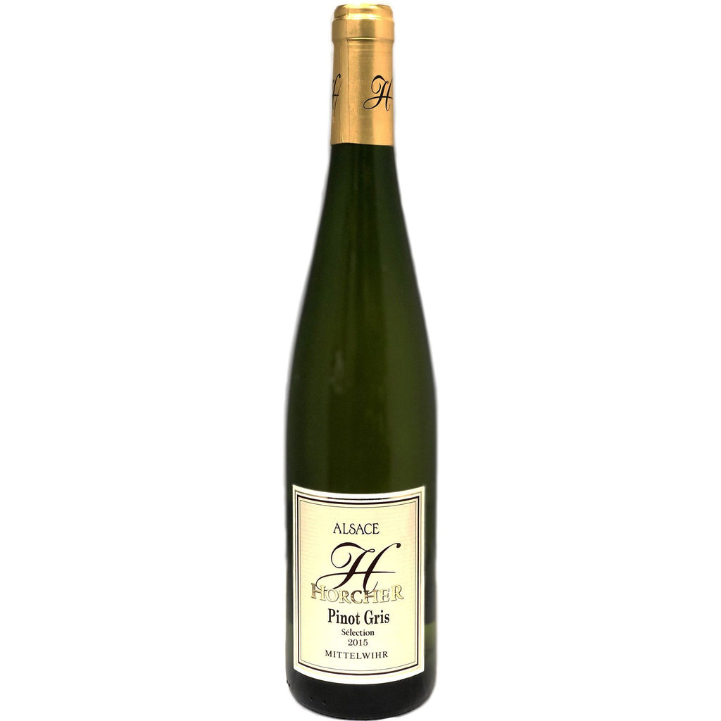 Domaine Horcher Pinot Gris 2015 - wine- french-Lik Tin Century