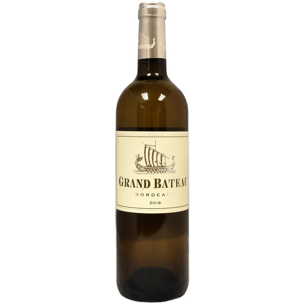 Chateau Grand Bateau blanc 2016 - wine- french-Lik Tin Century