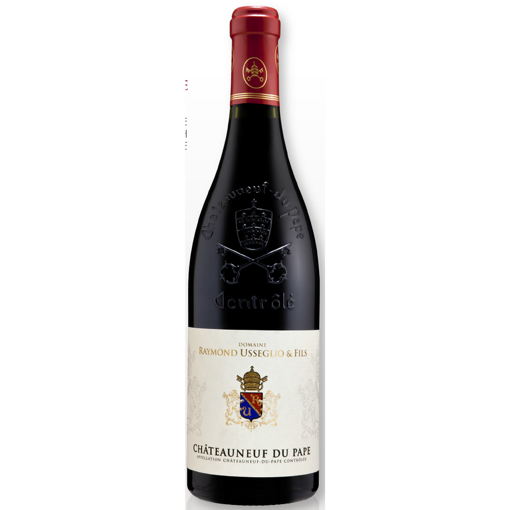Domaine Raymond Usseglio Tradition rouge 2014 - wine- french-Lik Tin Century