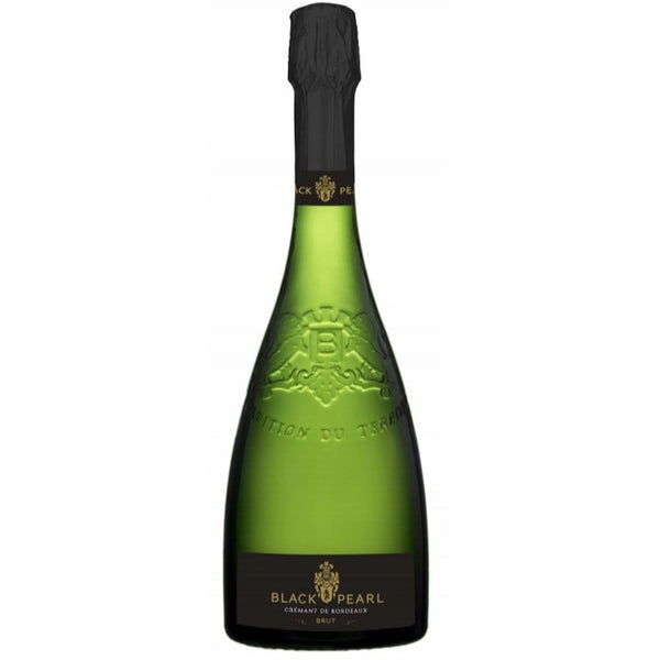 Black Pearl Blanc Brut NV - wine- french-Lik Tin Century