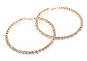 bling hoop earrings large