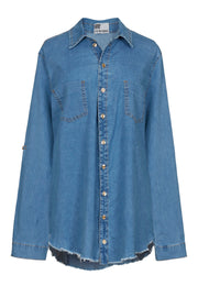 denim button shirt