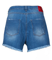 denim shorts blue
