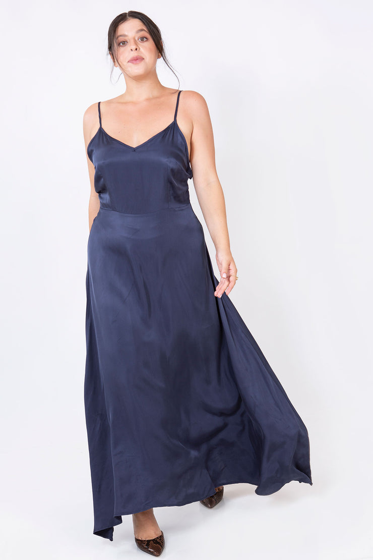 princess dress navy blue