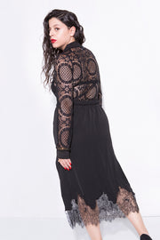 lace top black