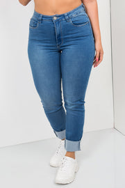 raw edges skinny jeans light blue