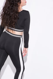 too good sweatpants black