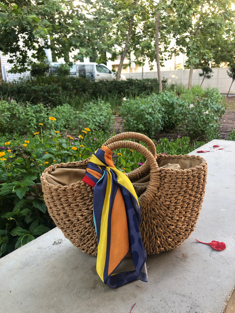 retema's basket summer bag