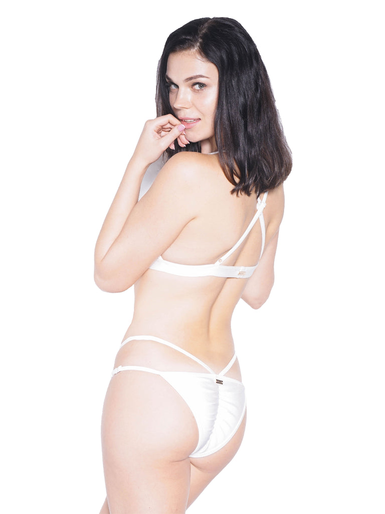 FLAUNT BOTTOM WHITE