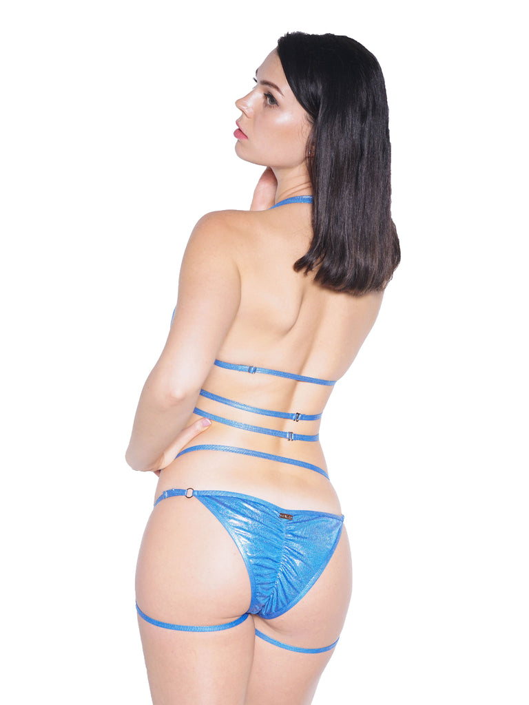 SIREN CHEEKY SHORTS BLUE