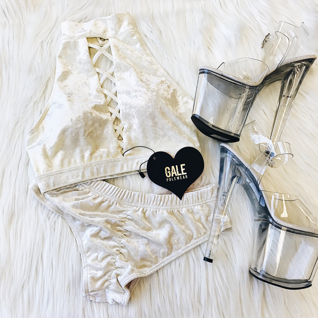 Velvet Lux Top White