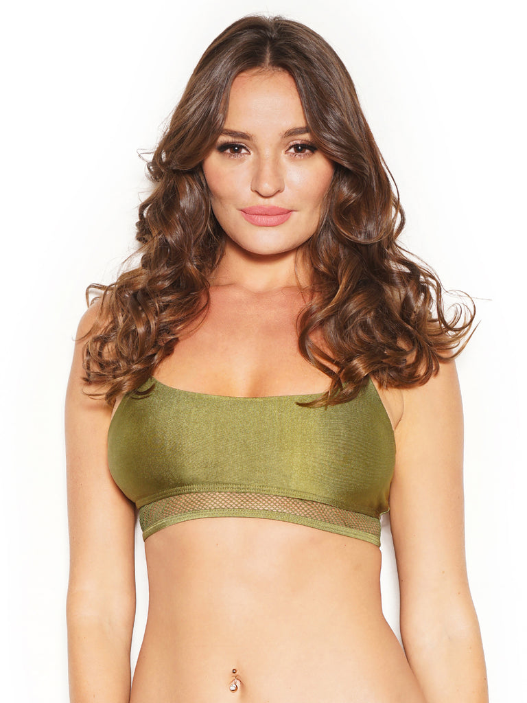 AGILE MESH TOP GREEN