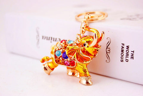 3D Auspicious Elephant Key Holder Chains - Free Offer (Just Pay Shipping & Handling)-Great Deals and More