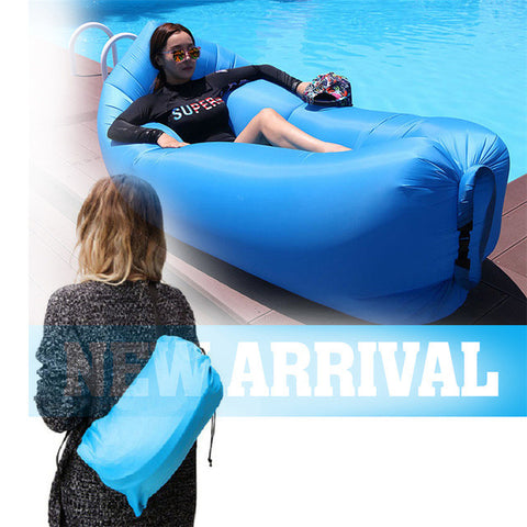 Is it really that EASY ??? FAST FOLDING Inflatable Sleeping Bag