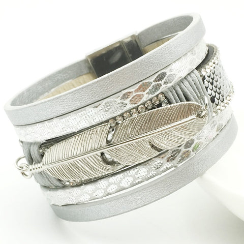 Unisex Multilayer Leather Bracelets - FREE SHIPPING-Bracelets-Great Deals and More