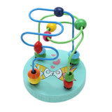 Colorful Wooden Mini Around Beads Educational Toy - Free Shipping Worldwide